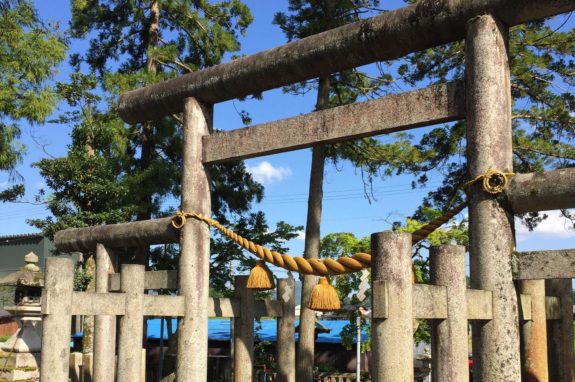 伊香具神社 – 羽衣伝説の古社